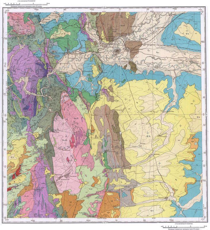 Карты 20 века  Кольские Карты